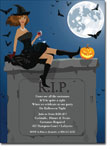 Noteworthy Collections - Halloween Invitations (RIP African American)