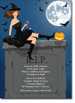 Noteworthy Collections - Halloween Invitations (RIP Brunette)