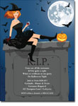 Noteworthy Collections - Halloween Invitations (RIP Redhead)