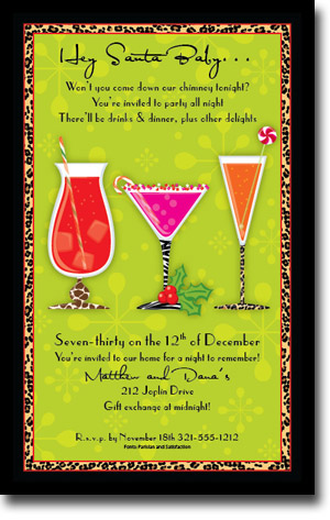 Paper So Pretty - Invitations (Wild Christmas Cocktails)