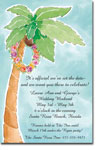 Picture Perfect - Invitations (Palm Tree with Lei)