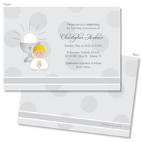 Spark & Spark Invitations (A Praying Boy - Blonde)