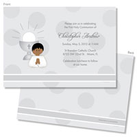 Spark & Spark Invitations (A Praying Boy - African American)
