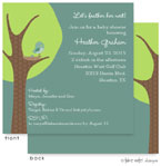 Take Note Designs Baby Shower Invitations - Feather the Nest  (TND-A2-9000)