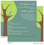 Take Note Designs Baby Shower Invitations - Feather the Nest TWINS (TND-A2-9005)