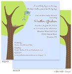 Take Note Designs Baby Shower Invitations - Boy Booties Delivery (TND-A2-9006)