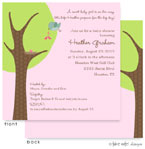 Take Note Designs Baby Shower Invitations - Girl Booties Delivery (TND-A2-9007)