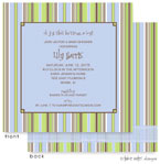 Take Note Designs Baby Shower Invitations - Favorite PJ&#39;s (TND-A2-9211)