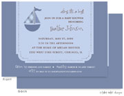 Take Note Designs Baby Shower Invitations - Ahoy! It&#39;s a Boy!  (TND-A6985)