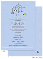 Take Note Designs Baby Shower Invitations - Animal Mobile (TND-A7013)