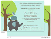 Take Note Designs Baby Shower Invitations - Animal Stack (TND-A7014)