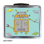 Finlay Prints - Lunchboxes (Robot) (LB04)