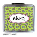 Finlay Prints - Lunchboxes (Pretty Paisley) (LB09)