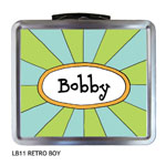 Finlay Prints - Lunchboxes (Retro Boy) (LB11)