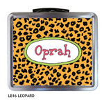 Finlay Prints - Lunchboxes (Leopard) (LB16)
