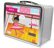Spark & Spark Lunch Box - Ballerina Studio (African-American Girl) (03-LC-1400-2-04)