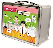 Spark & Spark Lunch Box - Doctor&#39;s Visit (Asian Girl) (03-LC-1400-3-05)