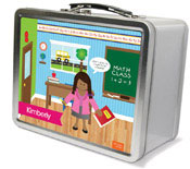 Spark & Spark Lunch Box - Learning Time (African-American Girl) (03-LC-1400-4-04)