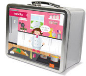 Spark & Spark Lunch Box - A Chef&#39;s Taste (Brunette Girl) (03-LC-1400-5-02)