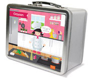Spark & Spark Lunch Box - A Chef&#39;s Taste (Black Hair Girl) (03-LC-1400-5-03)