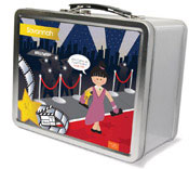 Spark & Spark Lunch Box - In The Spotlight (Black Hair Girl) (03-LC-1400-6-03)