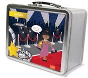 Spark & Spark Lunch Box - In The Spotlight (African-American Girl) (03-LC-1400-6-04)