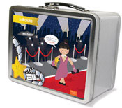 Spark & Spark Lunch Box - In The Spotlight (Asian Girl) (03-LC-1400-6-05)