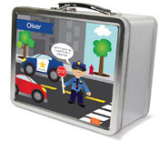 Spark & Spark Lunch Box - Police On Duty (Blonde Boy) (03-LC-1401-4-01)