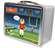 Spark & Spark Lunch Box - Touchdown (Brunette Boy) (03-LC-1401-6-02)