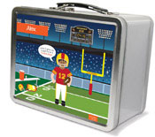 Spark & Spark Lunch Box - Touchdown (African-American Boy) (03-LC-1401-6-04)