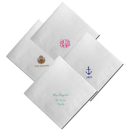 Boatman Geller - Create-Your-Own Linen-Like Personalized Dinner Napkins