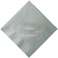 Classic Impressions - Embossed 3-ply Beverage/Luncheon Napkins (Duet)