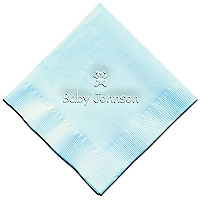Classic Impressions - Embossed 3-ply Beverage/Luncheon Napkins (Teddy Bear)