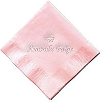 Classic Impressions - Embossed 3-ply Beverage/Luncheon Napkins (Baby Carriage)