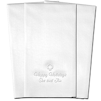 Classic Impressions - Embossed Guest Towels (Wreath)