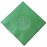 Classic Impressions - Embossed 3-ply Beverage/Luncheon Napkins (Eastern Monogram)