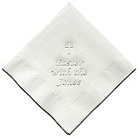 Classic Impressions - Embossed 3-ply Beverage/Luncheon Napkins (Easter)