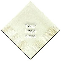 Classic Impressions - Embossed 3-ply Beverage/Luncheon Napkins (Create-Your-Own with Logo)