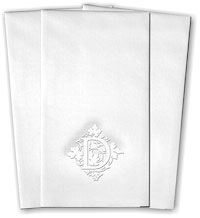 Classic Impressions - Guest Towels (Vineyard Initial RT20E)