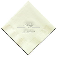 Classic Impressions - Embossed 3-ply Beverage/Luncheon Napkins (Twosome)