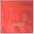 Classic Impressions - Embossed 3-ply Beverage/Luncheon Napkins (Square Effect Embossed 3-ply Beverage/Luncheon Napkins)