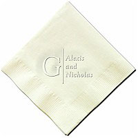 Classic Impressions - Embossed 3-ply Beverage/Luncheon Napkins (Reflections)