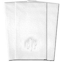 Classic Impressions - Guest Towels (Headline Monogram) (WB8127 - WRT144)