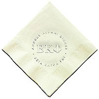 Classic Impressions - Embossed 3-ply Beverage/Luncheon Napkins (Sorority/Fraternity)