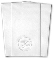 Classic Impressions - Guest Towels (Mr & Mrs - WB9003)