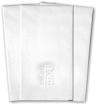 Classic Impressions - Guest Towels (Mission Monogram)