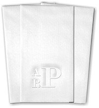 Classic Impressions - Guest Towels (Prestige Monogram)