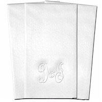 Classic Impressions - Guest Towels (Duet Initial)