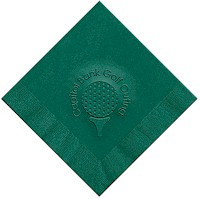 Classic Impressions - Embossed 3-ply Beverage/Luncheon Napkins (Golfing)