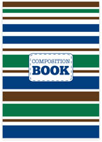 Evy Jacob Composition Notebooks (Stripes) (NB04)